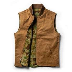 open flatlay of vest