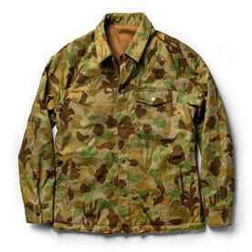 reversed flatlay of jacket
