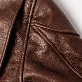 material shot of shoulder