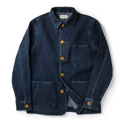 The Ojai Jacket in Indigo Diamond Plate