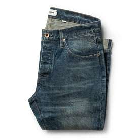 The Slim Jean in Organic Selvage 12-month Wash: Featured Image