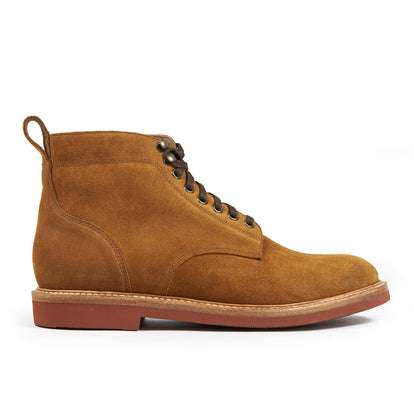 The Trench Boot in Butterscotch Weatherproof Suede