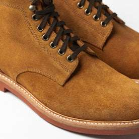 The Trench Boot in Butterscotch Weatherproof Suede: Alternate Image 4
