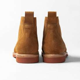 The Trench Boot in Butterscotch Weatherproof Suede: Alternate Image 8