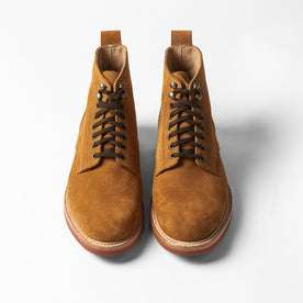 The Trench Boot in Butterscotch Weatherproof Suede: Alternate Image 9