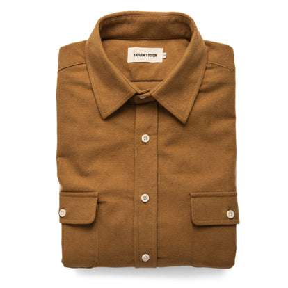 The Yosemite Shirt in British Khaki