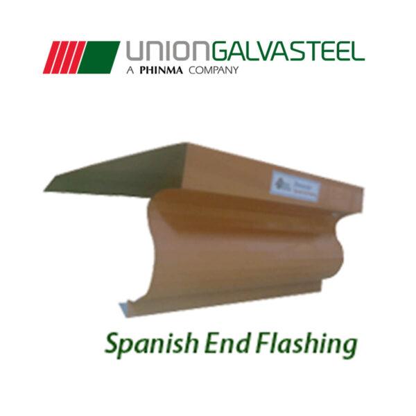 2UG SPANISH END FLASHING