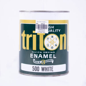 Triton Quick Drying Enamel White 500 1L