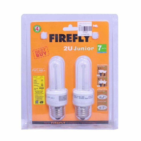 FFLY Best Buy CFL 2U Junior 7 Watt Daylight E27_FF0027