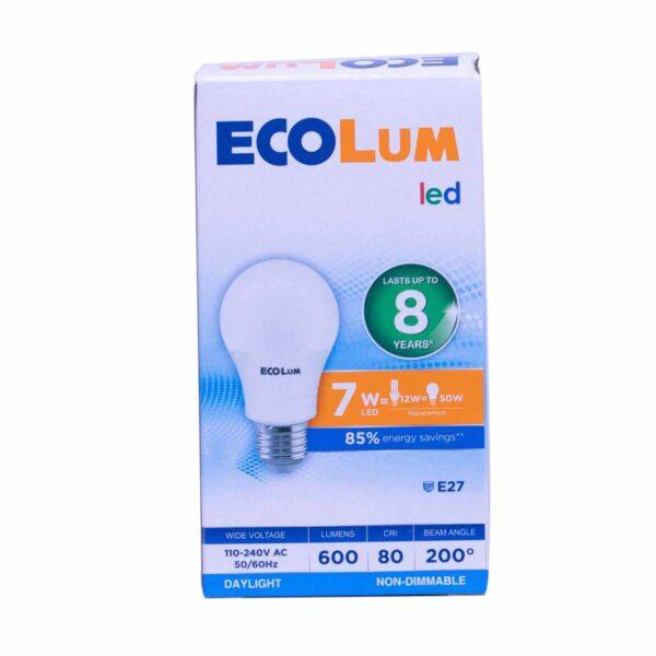 FFLY CBI207DL Ecolum Led Bulb 7 Watt Daylight E27 FF0287 0 1