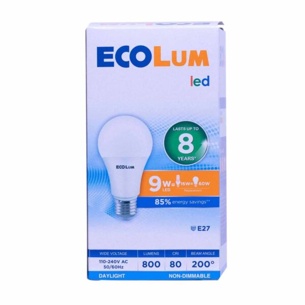 FFLY CBI209DL Ecolum Led Bulb 9 Watt Daylight E27 FF0296 0 1