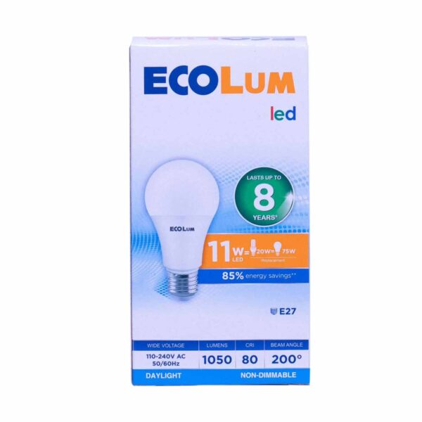 FFLY CBI211DL Ecolum Led Bulb 11 Watt Daylight E27 FF0288 0 1