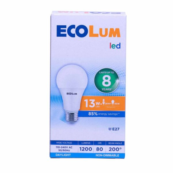 FFLY CBI213DL Ecolum Led Bulb 13 Watt Daylight E27 FF0289 0 1