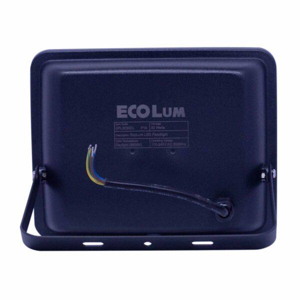 FFLY Ecolum Led Flood Light 30 Watt Daylight CFL2030DL FF0398 2 1