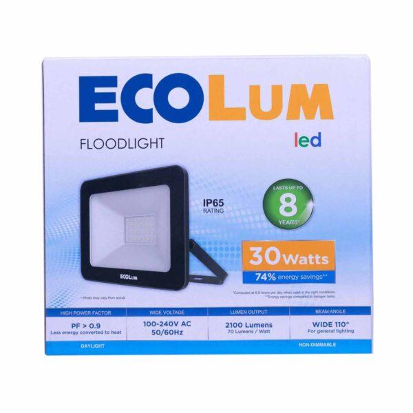 FFLY Ecolum Led Flood Light 30 Watts Daylight CFL2030DL FF0398 0 1