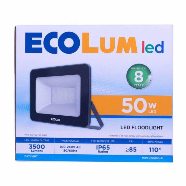 FFLY Ecolum Led Flood Light 50 Watts Daylight CFL2050DL FF0357 0 1