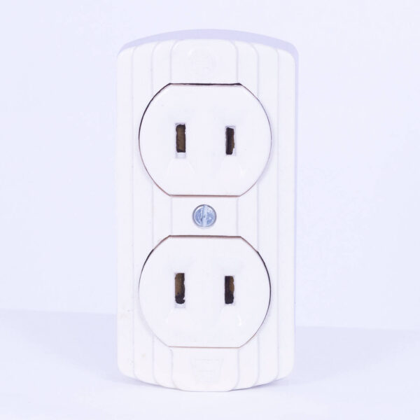 KOPEZ SURFACE DUPLEX OUTLET 2046 IVORY KO2046 1