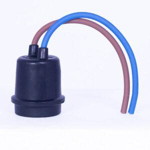 Weatherproof Rubber Socket (E27-602)