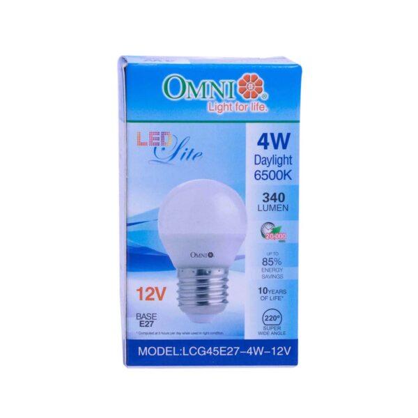 Omni Led LITE G45 12 Volt 4 Watt E27 G45 12V  OM039 0 1