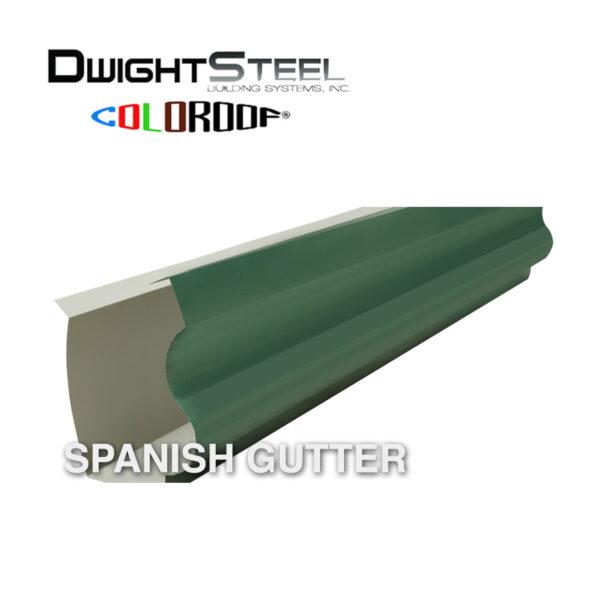 spanish gutter