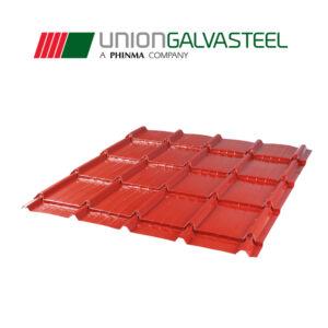 Laverne Tile 0.40mm x 4' (per meter)