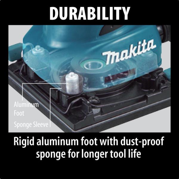 Makita Finishing Sander BO4556 durability