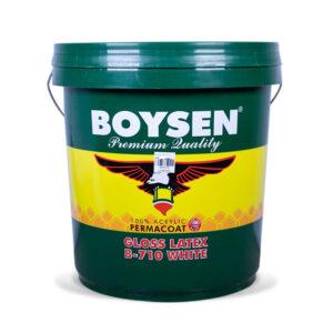 Boysen Latex Gloss White #710 (Plastic-16 Liters)