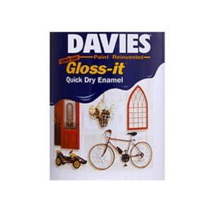 Davies Quick Dry Enamel White DV-400 (16 Liters)