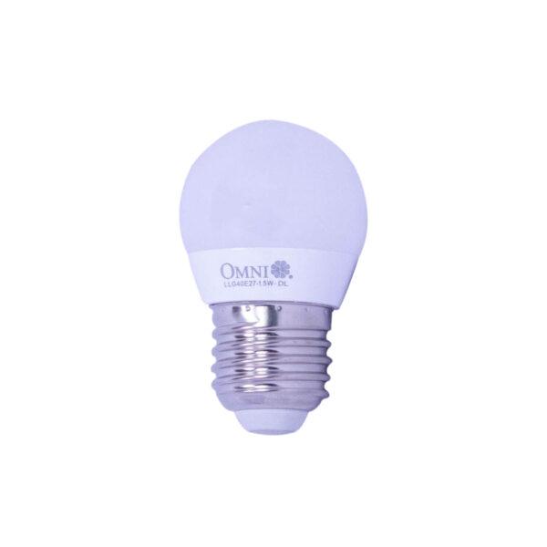 Omni Led Bulb G40 1.5 Watt Daylight LLG40E27 1.5Watt DL OM062 1