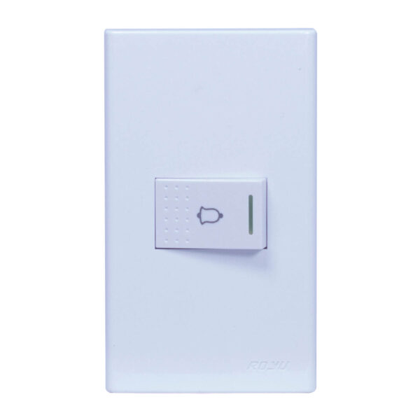 Wide 1 Gang Doorbell Switch (Set) (WD801)