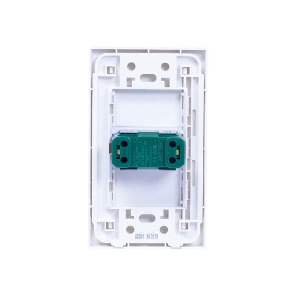 ROYU WIDE 1 GANG DOORBELL SWITCH SET WD801 RY0010 2