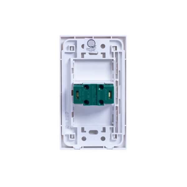 ROYU WIDE 1 GANG UNIVERSAL OUTLET SET WD111 RY0025 3