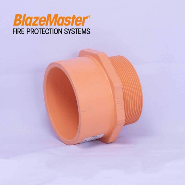 Atlanta Blazemaster Male Adapter Plastic Thread 100mm 4 EL1952 0