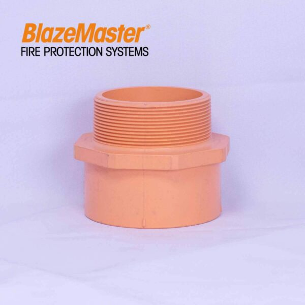 Atlanta Blazemaster Male Adapter Plastic Thread 100mm 4 EL1952 1
