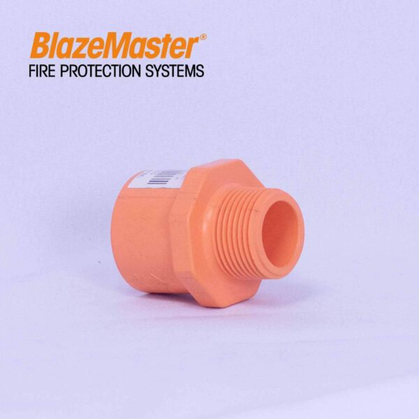 Atlanta Blazemaster Male Adapter Plastic Thread 25mm 1 EL1925 0