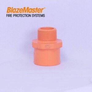 "Male Adapter Plastic Thread 25mm (1"")"