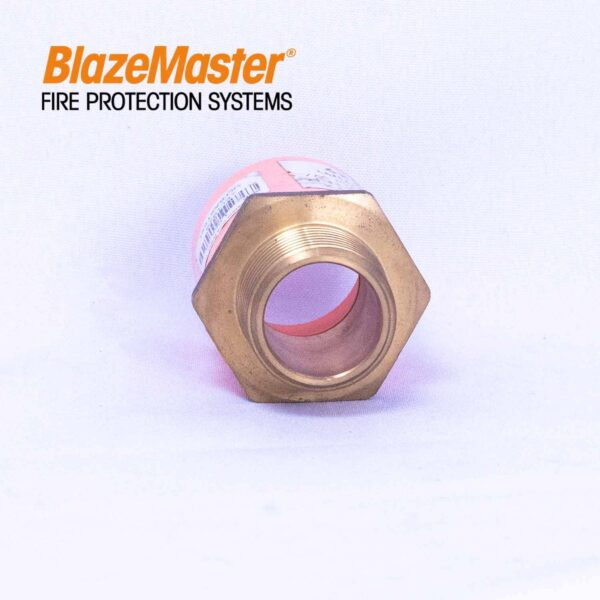 Atlanta Blazemaster Male Adapter with Brass 25mm 1 EL1929 2