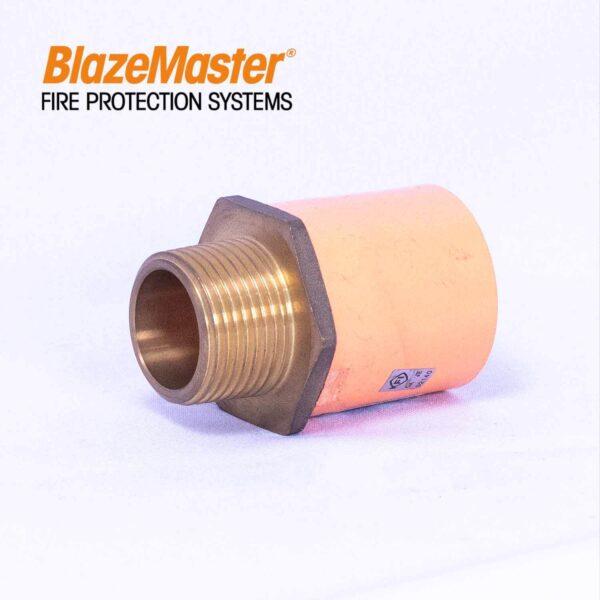 Atlanta Blazemaster Male Adapter with Brass 25mm 1 EL1929 3