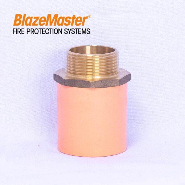 Atlanta Blazemaster Male Adapter with Brass 32mm 1 14 EL1928 1