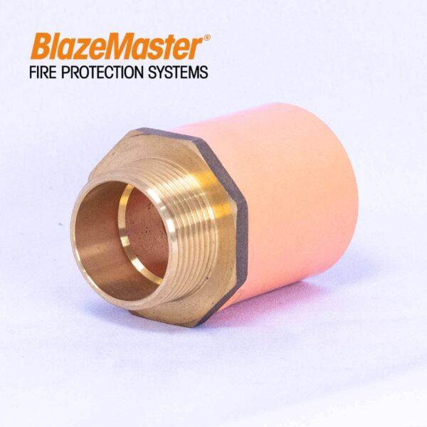 Atlanta Blazemaster Male Adapter with Brass 32mm 1 14 EL1928 4