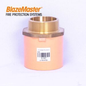 """Male Adapter with Brass 50mm (2"""")"""