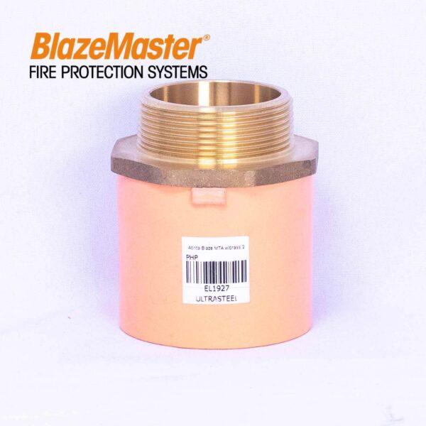 Atlanta Blazemaster Male Adapter with Brass 50mm 2 EL1927  1