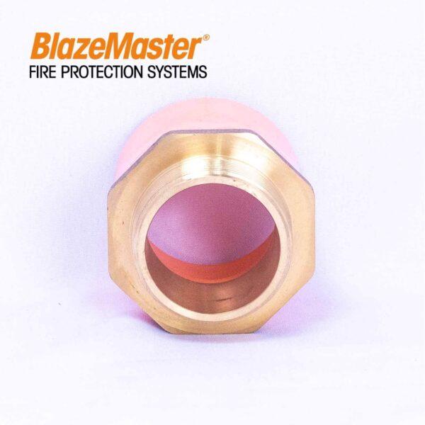 Atlanta Blazemaster Male Adapter with Brass 50mm 2 EL1927 2