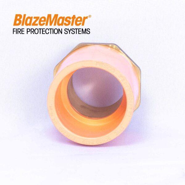 Atlanta Blazemaster Male Adapter with Brass 50mm 2 EL1927 3