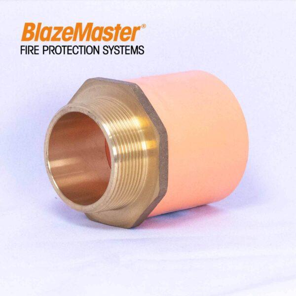 Atlanta Blazemaster Male Adapter with Brass 50mm 2 EL1927 4