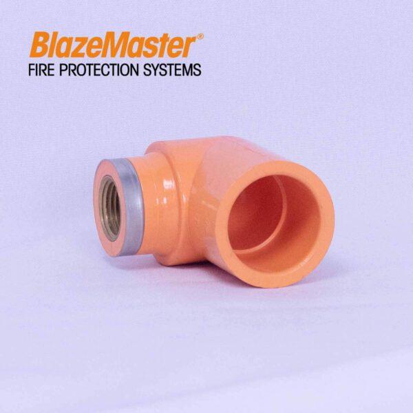Atlanta Blazemaster Sprinkler Head Elbow 25mm x15mm 1 x 12 EL1918 0