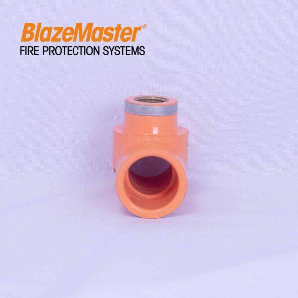 Atlanta Blazemaster Sprinkler Head Tee 25mm 1 x 12 EL1917 0