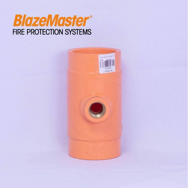 Atlanta Blazemaster Sprinkler Head Tee 50mm 2 x 12 EL1916 1