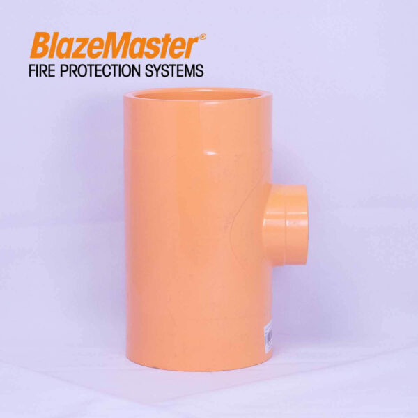 Atlanta Blazemaster Tee Reducer 100mm x 50mm4 x 2 EL1983 2