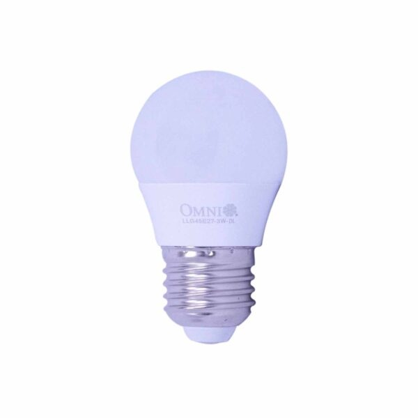 Omni Led Bulb G45 3.0 Watt Daylight LLG40E27 3.0Watt DL OM063 1